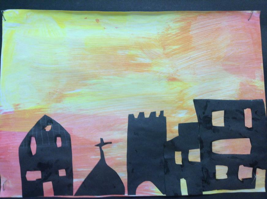 Art linked to the Great Fire of London. Year 2