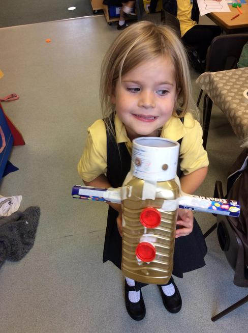 Robot junk modelling
