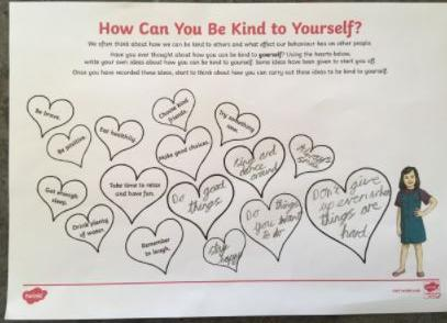 Dee's thoughts about being kind to yourself