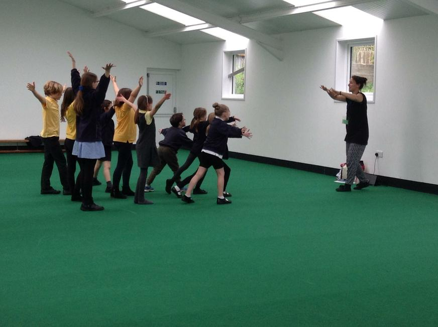 Dance club with Jess Squires.