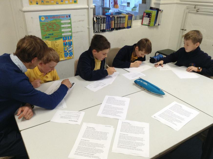 Homework club. Year 6