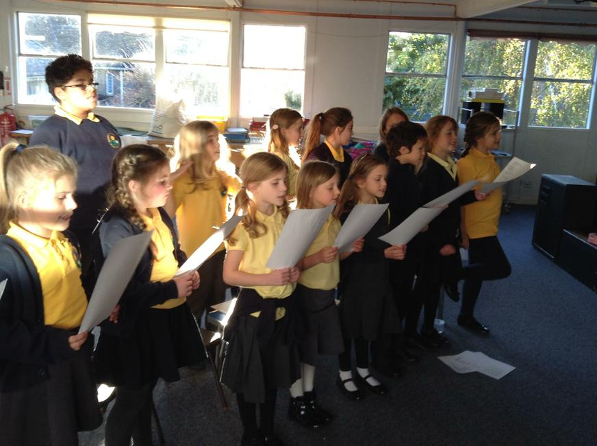 Choir for years 3- 6