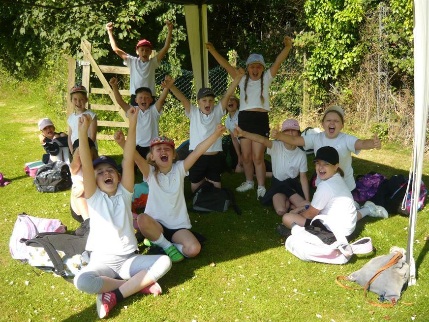 The children really enjoyed the cricket festival