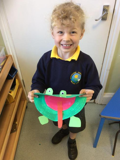 Making frogs