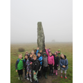 The menhir is massive.