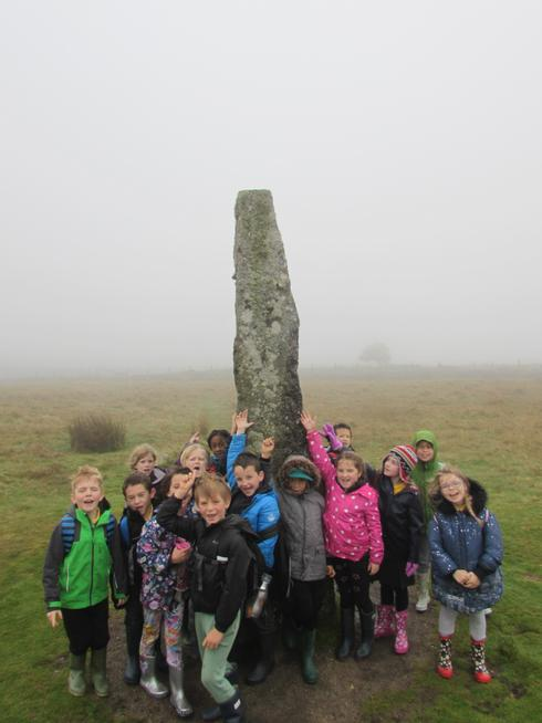 Poplars were amazed by the Standing Stone.