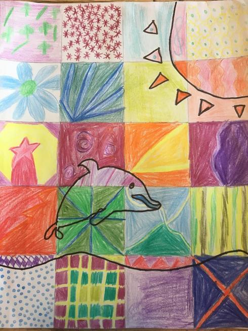 Flo's Mosaic art