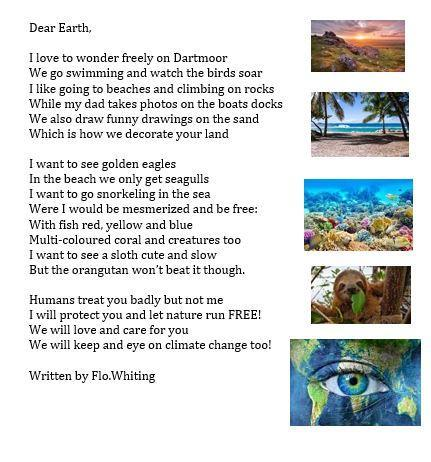 A letter to our Earth