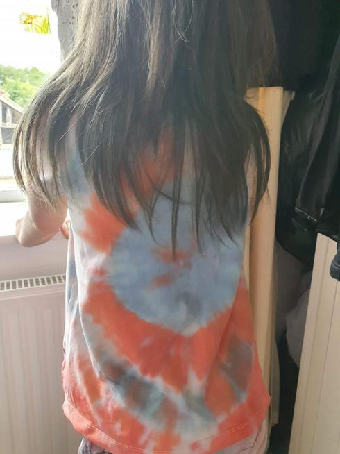 A super tie dyed T-shirt