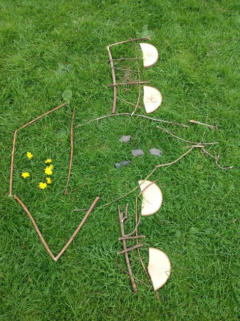 Year 1 Inspired by Andy Goldsworthy
