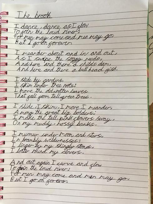 Dee's poem