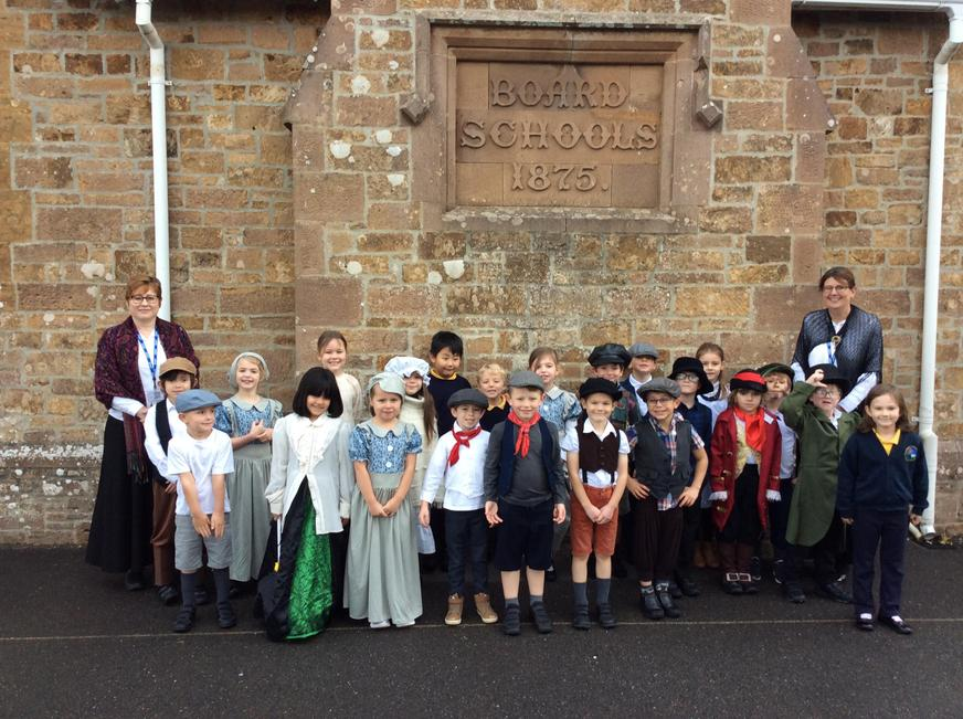 Outside our Victorian School