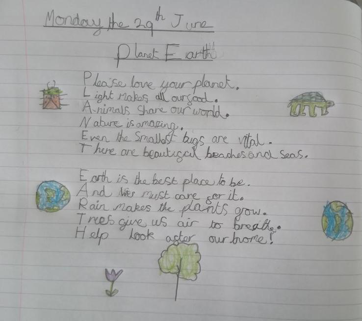 A thoughtful acrostic poem