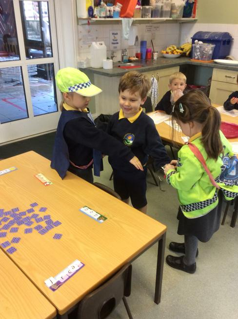Police role play