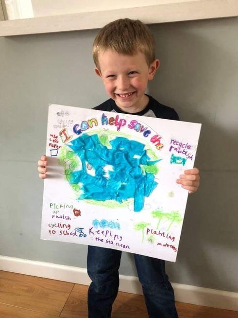 A fantastic recycling poster.