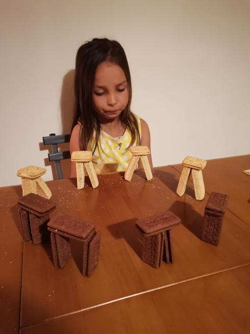 A well-balanced biscuit Stonehenge,