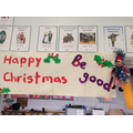 End of term message from our elves.