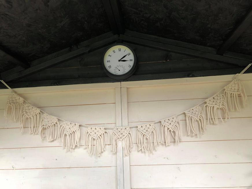 Macrame bunting by Mrs Bartle