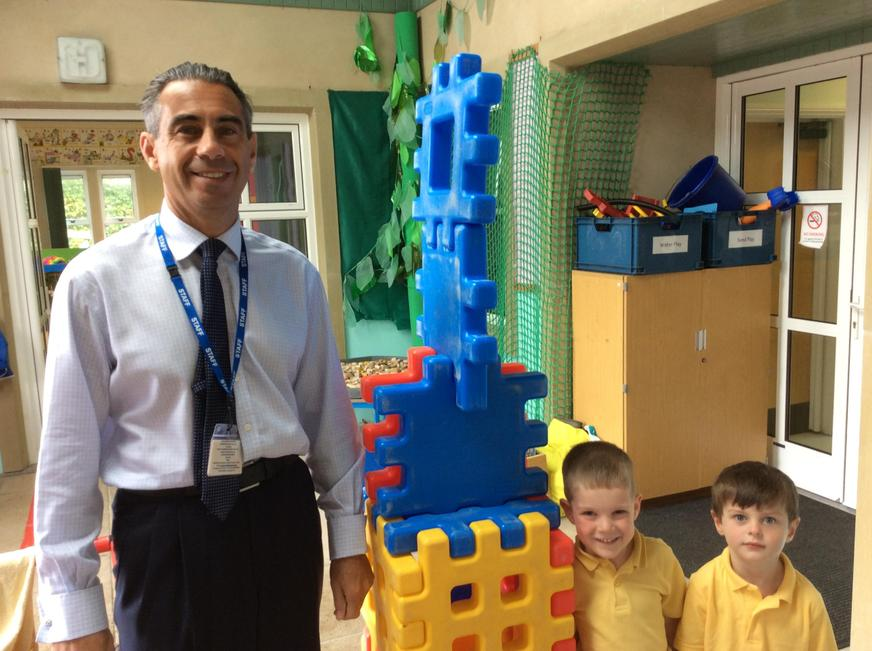 Is our tower taller than Mr Monger?