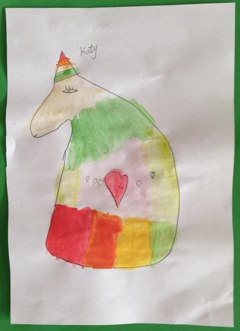 Katy's unicorn