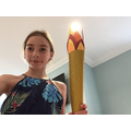 Olympic torch making