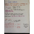 Multiplication using partitioning (y3)