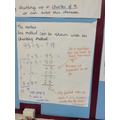 Division using chunking method (y4)