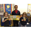 Our Junior Travel Ambassadors gave out prizes.