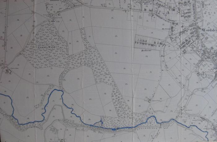The River Stour through Wordsley