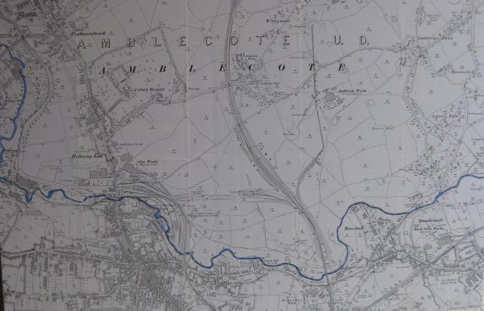 The River Stour through Amblecote