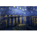 The Starry Night Over the Rhone