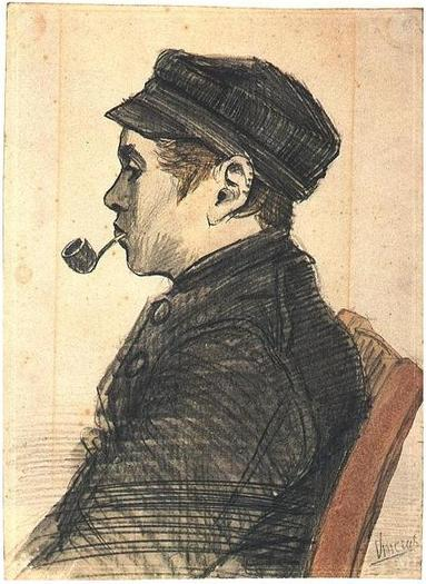 Young Man with a Pipe