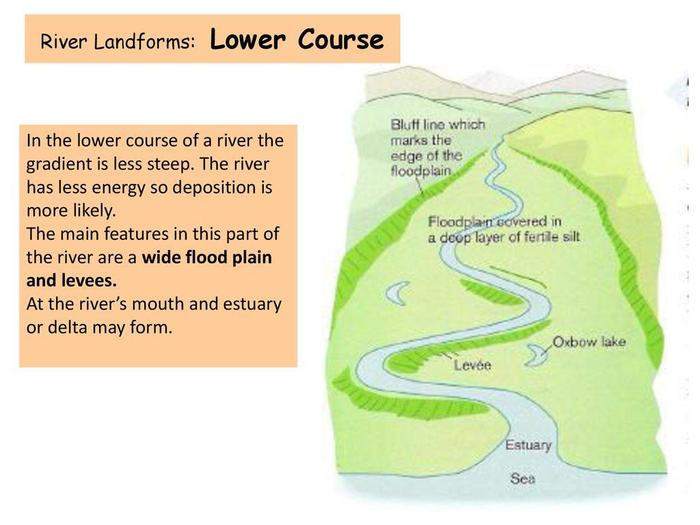 The Lower Course of the River