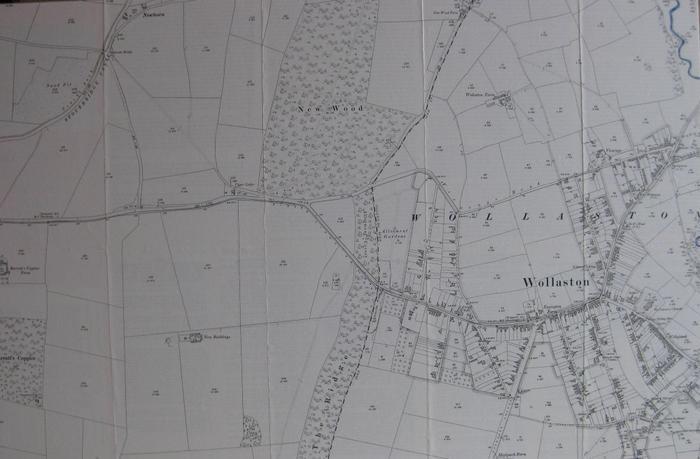 The River Stour through Wollaston