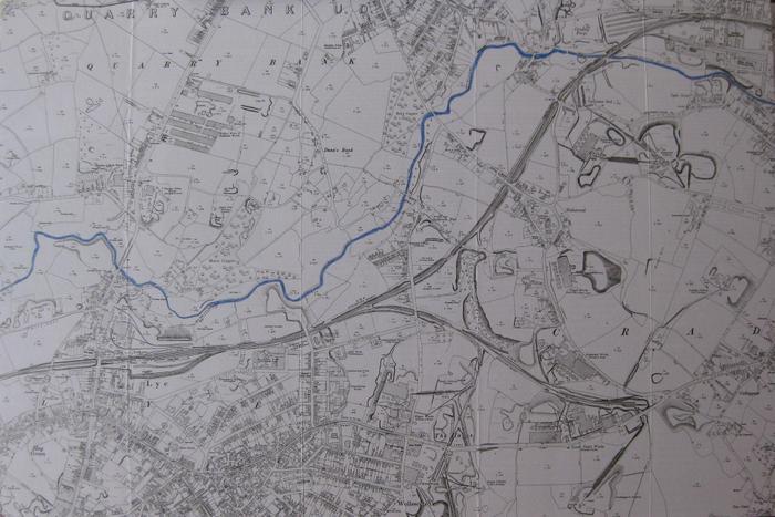 The River Stour through Lye & Quarry Bank