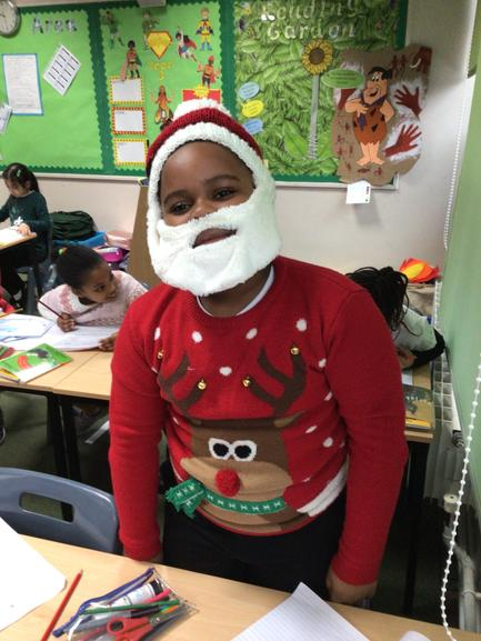 Our very own Year 3 santa