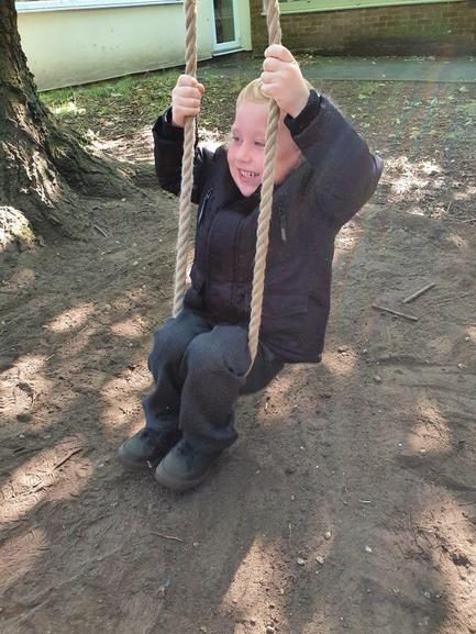My first swing