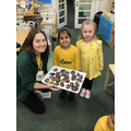 Class R have made Smile stones