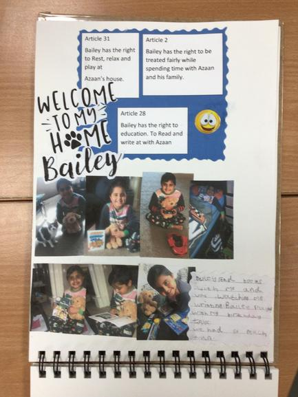 Azaan in Y1  shared his birthday celebrations with Bailey.