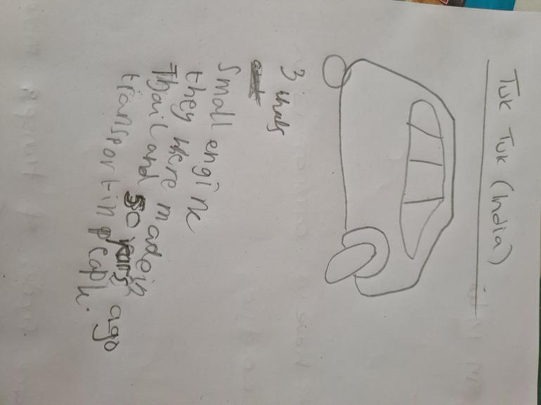 Broly researched the Tuk Tuk .