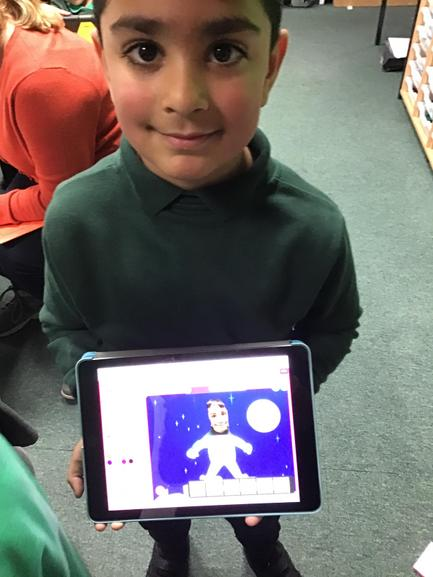 Some of us are even clever enough to make ourselves into astronauts. Wow!