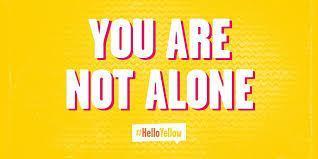 helloyellow logo you are not alone