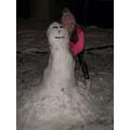 Amelia's Snow Human