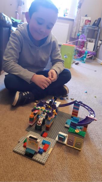 Jake accepted the 30 day lego challenge!