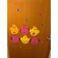 Natalia's Easter decorations