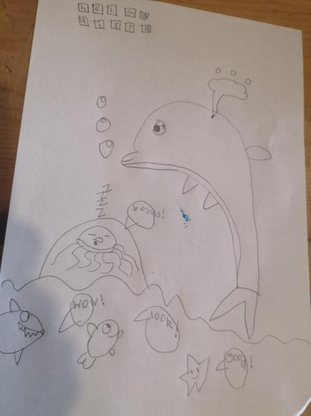 Fantastic drawing Gracie-May
