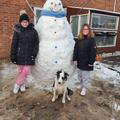 Katie and Nicole's Snowman