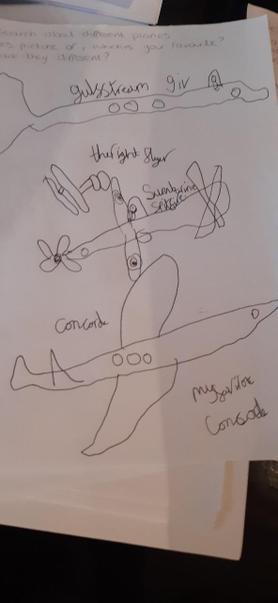 Aircraft work!