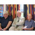 (L-R) Mr Tony Eaves, Mr Roy Pearson, Mr John Ball