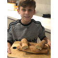 Max's Homemade Bread Baguettes